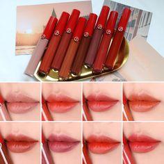 """뷰티크리에이터 웅라미 (Boram Kim) (@woongrami) added a photo to their Instagram account: """"#상품협찬 #아르마니뷰티 #립마에스트로 신상! #베니스컬렉션 을 만나보았어요!🧡 .…"""" Make Up, Lipstick, Beauty, Products, Lipsticks, Makeup, Maquiagem, Beauty Products"""