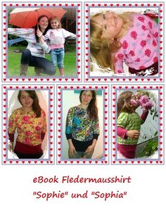 eBook Fledermausshirt, erhältlich unter www.allesnaehbar.de