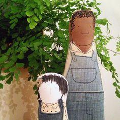 "TIMO'S Custom dolls- From the book ""To Kill a Mockingbird"""