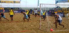 Ecuador dio la nota al vencer en shoot gol a Argentina en la apertura del Panamericano de Beach Handball en la parte masculina.