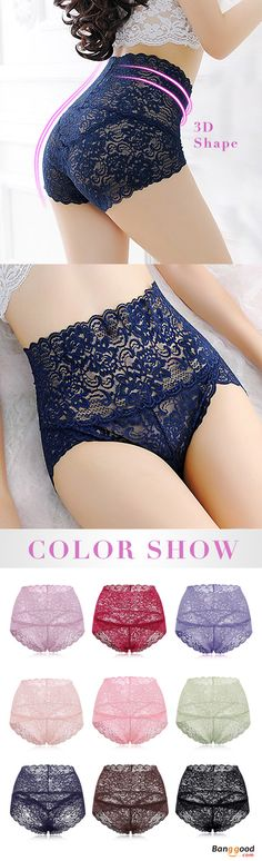 US$5.79+Free shipping. Buy more&Save more. Lace Panties, Underwear, Perspective, Sexy, High Waisted, Hip Lifting Tummy Shaper Thin. Colors: Purple Blue, Purple, Coffee, Wine Red, Green, Nude, Red, Pink, Royal, Black. Shop now~