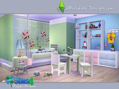 Sims 4 CC's - The Best: Kidsroom by SIMcredible!