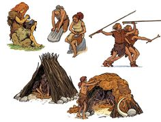 This is an education which takes place mainly at The first . Cro Magnon, Ages Of Man, Prehistoric World, Indigenous Tribes, Early Humans, Primitive Survival, Paleo Life, Stone Age, Prehistory