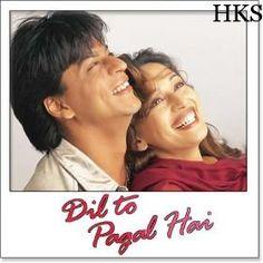 Shah Rukh Khan and Madhuri Dixit - Dil To Pagal Hai Shah Rukh Khan Movies, Shahrukh Khan, Bollywood Couples, Bollywood Stars, Korean Celebrities, Bollywood Celebrities, Srk Movies, Bollywood Movies Online, Lata Mangeshkar