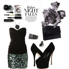 Before Night Falls, created by cassiecclayton on Polyvore