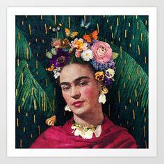 World Womens Day, Frida Kahlo Portraits, Frida Kahlo Prints, Frida Kahlo Tattoos, Fridah Kahlo, Kahlo Paintings, Frida Art, Canvas Prints, Art Prints