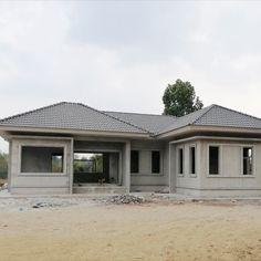 Update 📷📸 #แบบบ้านTS-22 🎊 #บริษัทธนเสฏฐ์เจริญทรัพย์จำกัด  Project 🏡 บ้านคุณชัยวัฒน์ หงษ์ทอง Location 📌 ต.ตาลสุม อ.ตาลสุม จ.อุบลราชธานี  💬 บ้านสวยชั้นเดียว จุดเด่นอยู่ที่ตรงรูปแบบของบ้านและประโยชน์ใช้สอยทั้งภายนอกและภายในที่เพรียบพร้อมเพื่อตอบแทนความตั้งใจในความพยายามสร้างบ้านหลังนี้ให้สำเร็จลุล่วง 🧡❤  สนใจติดต่อสอบถาม📍  📲 โทร 088-498-3399 (คุณแจ็ค)  📲 โทร 097-987-9361 (คุณแจ็ค)  lineID: homeubon Cheap House Plans, Round House Plans, House Plans For Sale, House Floor Plans, Four Bedroom House Plans, 4 Bedroom House Designs, Modern Family House, Modern Bungalow House, Small House Design