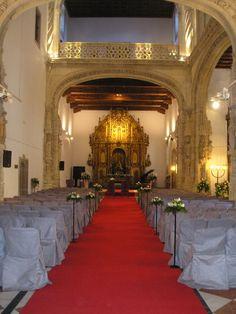 Capilla para #boda civil #altar #ParadorSantiago