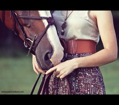 A Girl and Her Horse V by *PaytonAdams1 on deviantART