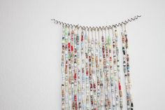 Inspirational Paper Bead Curtain