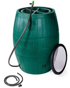 rain barrel - love ours - great for the garden & flowers