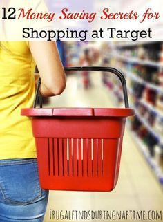 Want to learn how to save the most money at Target? Check out these 12 tips that will get you on your way to saving BIG at Target.