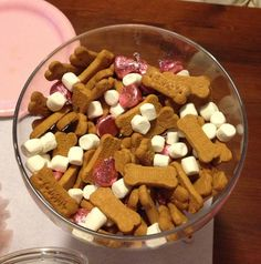 Scooby Snack Mix for Pink Puppy Party  @Gina Steinbrecher