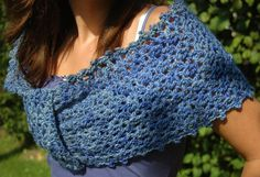 Aphrodite wrap, free crochet pattern (must teach myself how to make this!)