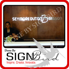 This can be used in a wide variety of ways and styles.  Cut out letters give a sign a sense of style and depth when combined with one of the many sign substrates available, or simply fixed directly to a flat interior or exterior wall.  We design, supply and install cut out letters for your company.  visit www.signbird.co.za or phone us on 013 752 3013  #signbird #alliminiumcutoutletters #hashtagonline #signage #signs #design #graphicdesign #sign #branding #advertising
