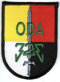3rd Special Forces Group Pocket Patches Operational Detachment A-323 B Company, 1st Battalion