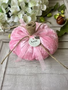 Velvet Fabric Pumpkin // Pink Crushed Velvet Pumpkin // White Tone // Silver Heat Pendant // Fall Decor // Fall Decor // Girl's Room Source by diemause Pink Pumpkins, Velvet Pumpkins, Fabric Pumpkins, Fall Pumpkins, Fun Diy Crafts, Homemade Crafts, Fall Crafts, Autumn Decorating, Pumpkin Decorating