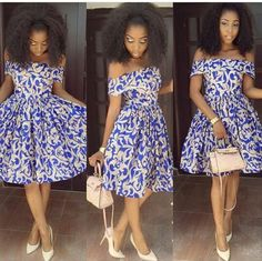 2019 ankara styles: check out 100 Amazing and stylish Ankara styles for Ladies t. from Diyanu 2019 ankara styles: check out 100 Amazing and stylish Ankara styles for Ladies t. from Diyanu African American Fashion, Latest African Fashion Dresses, African Dresses For Women, African Print Dresses, African Attire, African Wear, African Women, Chitenge Dresses, Ankara Stil