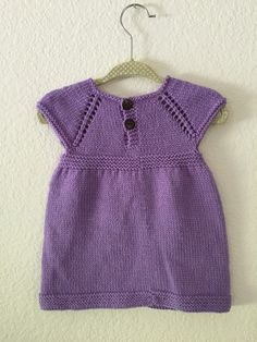Ravelry: Simple & Sweet Little Baby Dress by Taiga Hilliard Designs