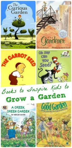 Planning to grow a garden this spring? Get your children excited with these fun books all about gardening!