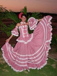 Cumbia dancer