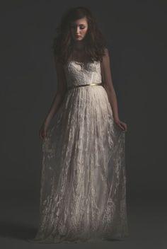Tendance Robe du mariée 2017/2018  sarah seven gold label collection
