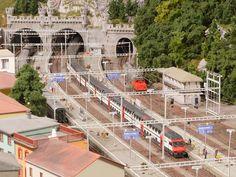 Ticino, Switzerland | #Scale_model 1/x #railway scenery | Hamburg