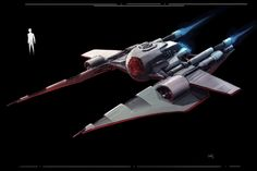 This was designed as the common Sith fighter during the New Sith Wars era. Nave Star Wars, Star Wars Rpg, Star Wars Ships, Star Citizen, Sith, Mass Effect Universe, Space Fighter, Star Wars The Old, Star Wars Characters Pictures