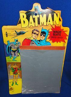 Old Vtg 1966 Batman Robin Magic Slate National Periodicals WOW Hard to Find | eBay