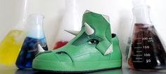 Dinosaurs Can Roam the Earth Again With Righteous Tricera Hi-Top Shoes