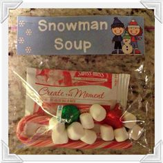 3rd Grade Thoughts: Pinspiration: Snowman Soup for Your Students