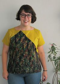Cookin' & Craftin': Blueprints for Sewing Saltbox Top
