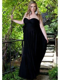 Eternity Maxi Convertible Dress in Black
