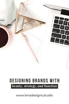 Brand Development + Design for Small Businesses Design Strategy, Brand Board, Desks, Brand You, Branding Design, Brain, Web Design, Success, Animal