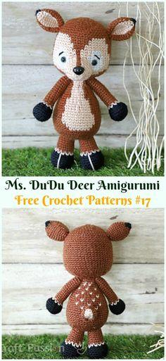 Mesmerizing Crochet an Amigurumi Rabbit Ideas. Lovely Crochet an Amigurumi Rabbit Ideas. Crochet Deer, Crochet Beanie, Cute Crochet, Crochet For Kids, Crochet Baby, Crochet Animals, Crochet Gratis, Crochet Patterns Amigurumi, Crochet Dolls