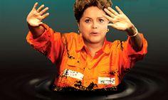 Afundada na lama, agora Dilma quer legislar contra a corrupção. É muito cinismo.