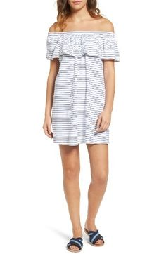 Sundry Ruffle Off the Shoulder Dress by womens-dresses
