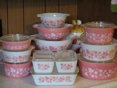Pink Gooseberry They Call This America: Pyrex