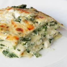Lasagne de choux chinois au fromage blanc et chèvre