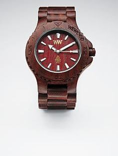 Natural Wooden Watch by WeWood. Want to get this for hubby's birthday! Unique Gifts For Men, Cool Gifts, Gifts For Husband, Fathers Day Gifts, Man Gifts, 21st Birthday Gifts, Birthday Presents, Birthday Ideas, Wooden Watch
