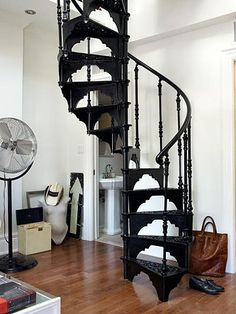 All I want are spiral staircases.