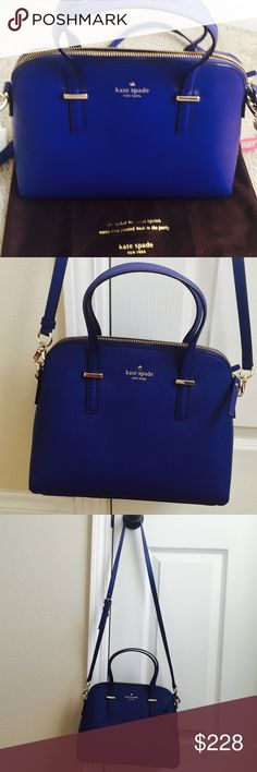 "Kate spade cedar street maise leather handbag In excellent condition with no stains or scratches. 9""h x 11.2""w x 4.9""d.   18.5"" - 20.5"" adjustable strap. Dust bag included. kate spade Bags Crossbody Bags"