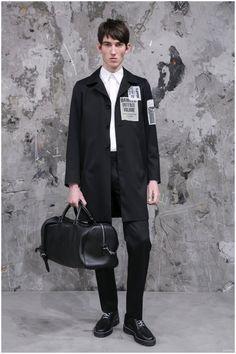 Sandro Fall/Winter 2015 Menswear Collection: Parisian Punk