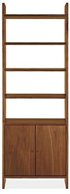 Addison 30w Bookcases - Bookcases & Shelves - Living - Room & Board
