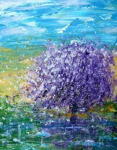 "Fabulous piece ""Purple Blossoms"" #Photograph - #Acrylic On #Canvas by Kume Bryant"