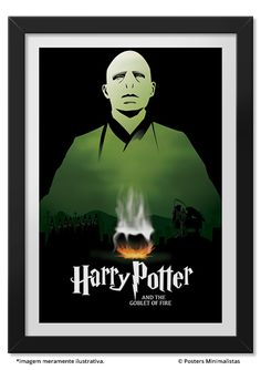 Goblet of Fire - Poster inspired by the fourth book in the saga Harry Potter.