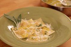 Squash Ravioli with Sage Butter!