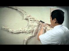 """Барельеф этапы создания .рельефное панно.3D панно """"Окраина Эриадора"""" - YouTube"""