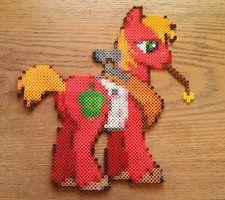 Perler Ponies by Indie-Cred on deviantART