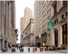 Financial District Security and Streetscapes - Explore, Collect and Source architecture